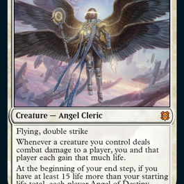 Angel of Destiny Zendikar Rising Magic the Gathering card