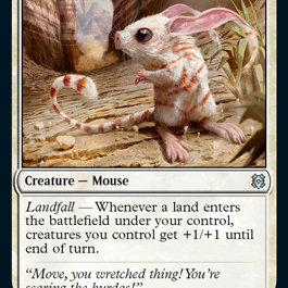 Canyon Jerboa Zendikar Rising Magic the Gathering card