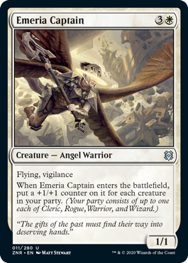 Emeria Captain Zendikar Rising Magic the Gathering card