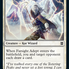 Farsight Adept Zendikar Rising Magic the Gathering card