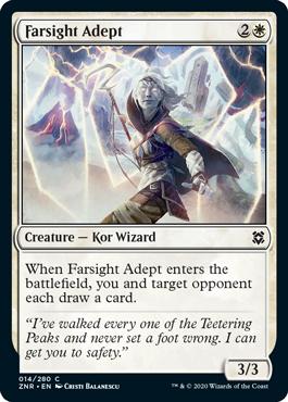 Farsight Adept Zendikar Rising Magic the Gathering card